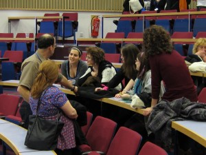 Continuing the Discussion at midnight.  Limmud 2010, Warwick University