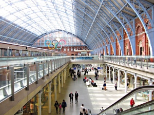 St. Pancras Train Station