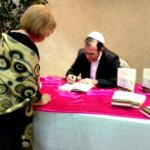 Dr. Joel M. Hoffman Signing Copies of AND GOD SAID