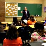 Dr. Joel M. Hoffman Teaching Sixth Graders