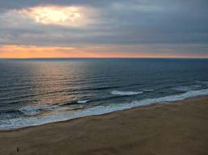 Virginia Beach as seen from the Wyndham